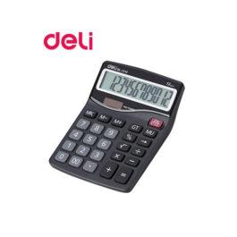Αριθμομηχανή Deli 12 Ψηφίων DL-1210 Μπαταρίας/Ηλιακή
