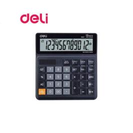 Αριθμομηχανή Αποφορολόγησης 120 Βήματα Deli 12 Ψηφίων M01120 Μπαταρίας/Ηλιακή