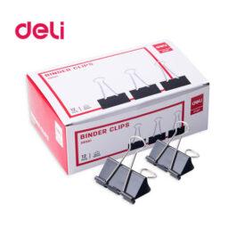 Πιάστρα Deli Double 51mm No1 E38561 Μαύρη