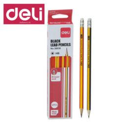 Μολύβι Deli Κλασικό Ριγέ με Γόμα W38030