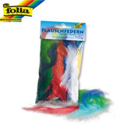 Φτερά Χειροτεχνίας Folia 10gr Διάφορα Χρώματα