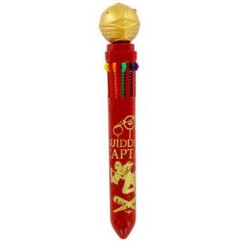 Harry Potter Snitch 10 Colour Pen SLHP364