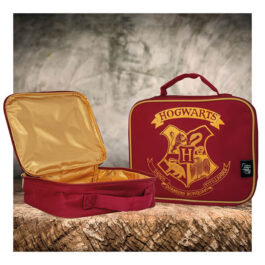 Harry Potter Τσαντάκι Φαγητού Red Hogwarts SLHP391