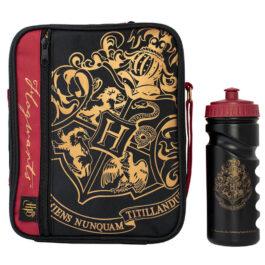 Harry Potter Τσαντάκι Φαγητού με Παγούρι Black Crest & Customise SLHP526