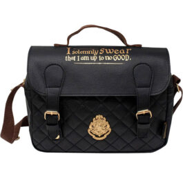 Harry Potter Τσάντα Φαγητού Quilted Satchel Black SLHP555
