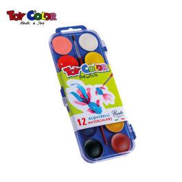 Νερομπογιές Toy Color 12 Χρώματα
